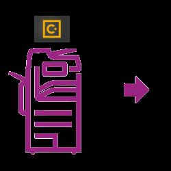 Concur scan icon
