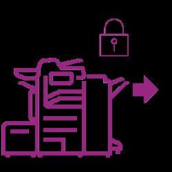 Altalink lock graphic violet