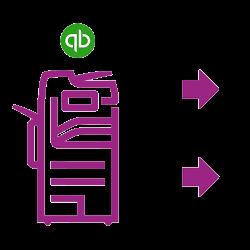 Icon purple Altalink Quickbooks