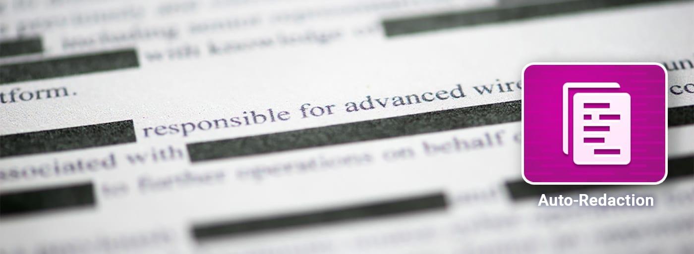 Redacted censored document