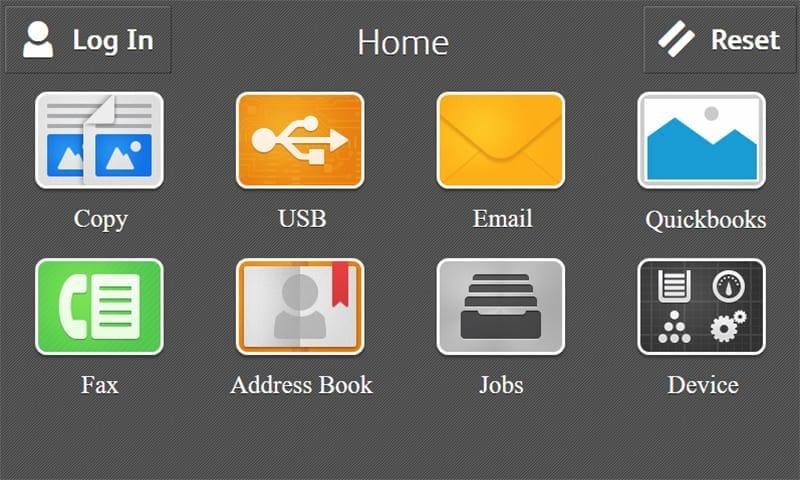Screenshot homepage Quickbooks