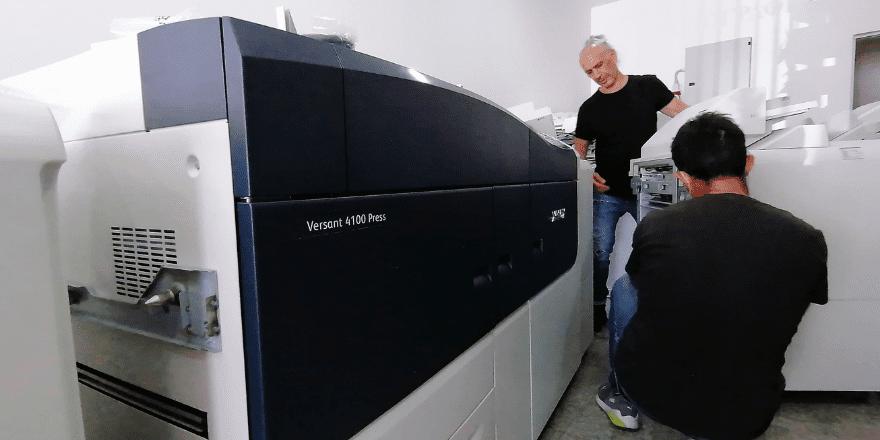 Xerox versant 4100 installation
